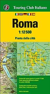 Cartina Dettagliata Roma.Amazon It Mappa Di Roma Centro Trastevere Cartina Geografica E