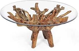 Best wood root dining table Reviews