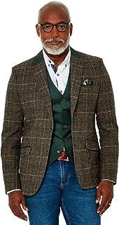 Joe Browns Mens Vintage Check Suit Blazer Jacket