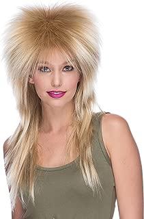 XL Long Rocker Wig Mixed Blonde