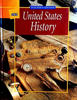 AGS United States History Teacher's Edition
