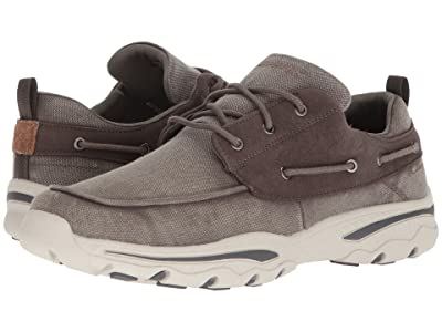 SKECHERS Relaxed Fit: Creston Vosen (Taupe) Men
