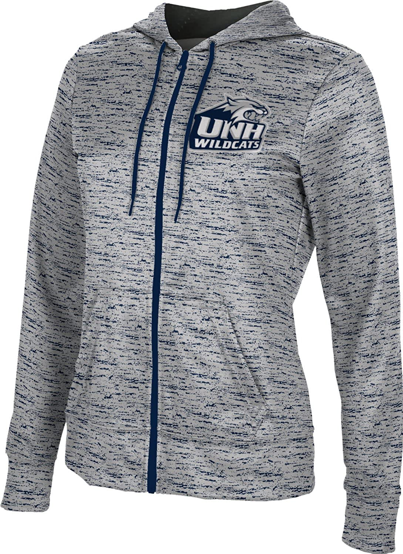 University of New Hampshire Girls' Zipper Hoodie, School Spirit Sweatshirt (Brushed)