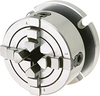 Shop Fox D3754 Small 4-Jaw Chuck with Plate