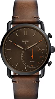 Fossil Men's FTW1149 Smart Digital Brown Watch