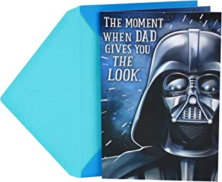 Hallmark Funny Star Wars Father's Day Card for Dad (Darth Vader, The Look)