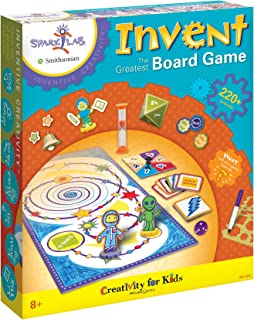 Creativity for Kids Spark!Lab Smithsonian (Invent The Greatest Board Game)