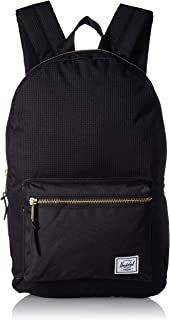 Herschel Settlement Backpack, Dark Grid/Black, One Size