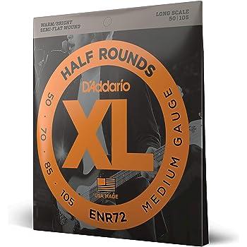 D/'Addario 4er Bass XL Half Rounds 45-100 45-65-80-100 ENR71