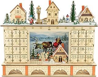 Best christmas tree advent calendar wood Reviews