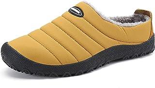 Gaatpot Unisex Adulto Invierno Zapatillas de Casa Antideslizantes Cálido Fluff Pantuflas Zapatos de Casa Interior Suave Al...