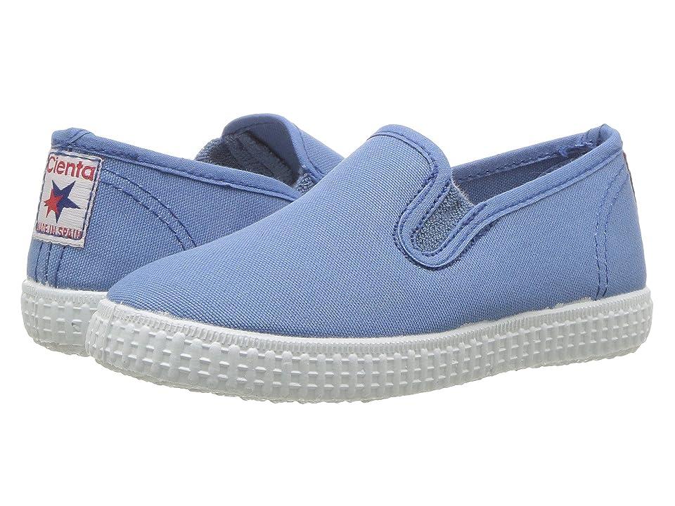 Cienta Kids Shoes 57000 (Infant/Toddler/Little Kid/Big Kid) (Washed Denim) Kid