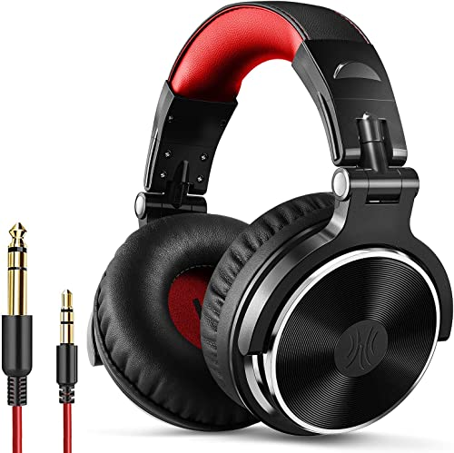 OneOdio Over Ear Headphone, Wired Bass Headsets with 50mm Driver, Foldable Lightweight Headphones with Shareport and ...