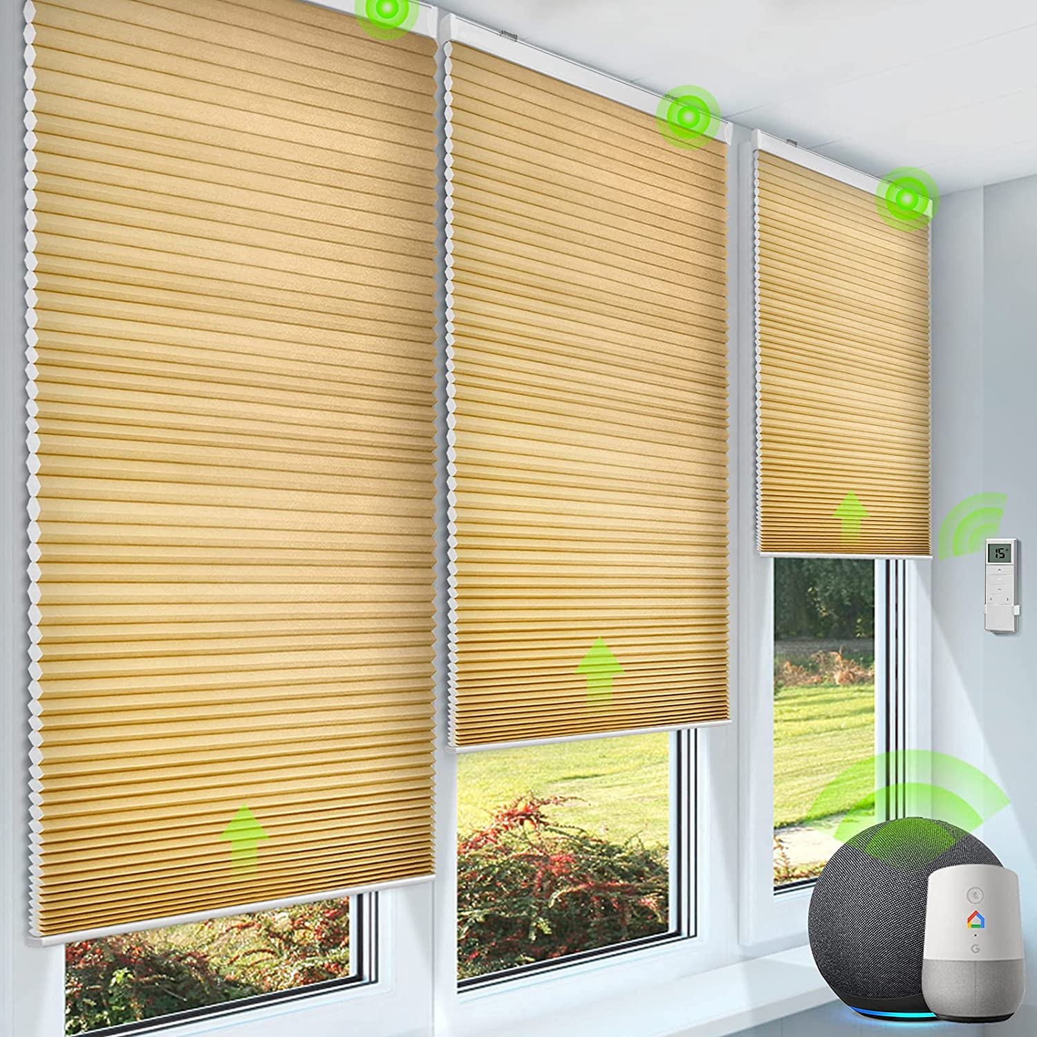 Super beauty product restock quality top Yoolax Max 55% OFF Smart Motorized Cellular Shade Alexa Compatible 60% with