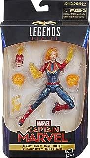 "Hasbro Marvel Legends Series Captain Marvel 6"" inch Captain Marvel Action Figure"