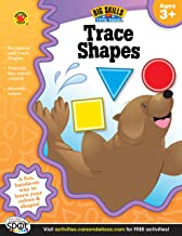 Carson Dellosa | Trace Shapes Workbook | Preschool–Kindergarten, 32pgs (Big Skills for..