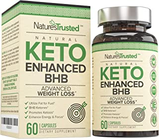 Premium Keto Diet Pills - Diet Control Utilize Fat for Energy with Ketosis - Boost Energy & Focus, Weight Loss, Manage Cravings Support Metabolism, Keto BHB Supplement for Women and Men 30 Day Supply