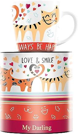 Preisvergleich für RITZENHOFF My Darling Kaffeebecher, Porzellan, Mehrfarbig 8.9 cm