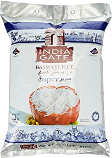INDIA GATE Super Basmati 5Kg (Pack of 1)