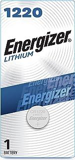 Energizer ECR1220BP Electronic Lithium 3V Batteries, Black/Red
