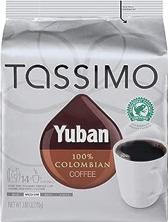 Tassimo Yuban Colombian Medium Roast Coffee T Discs (14 Count)