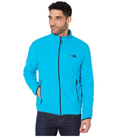 The North Face TKA Glacier Full Zip Jacket (Acoustic Blue/Acoustic Blue) Men