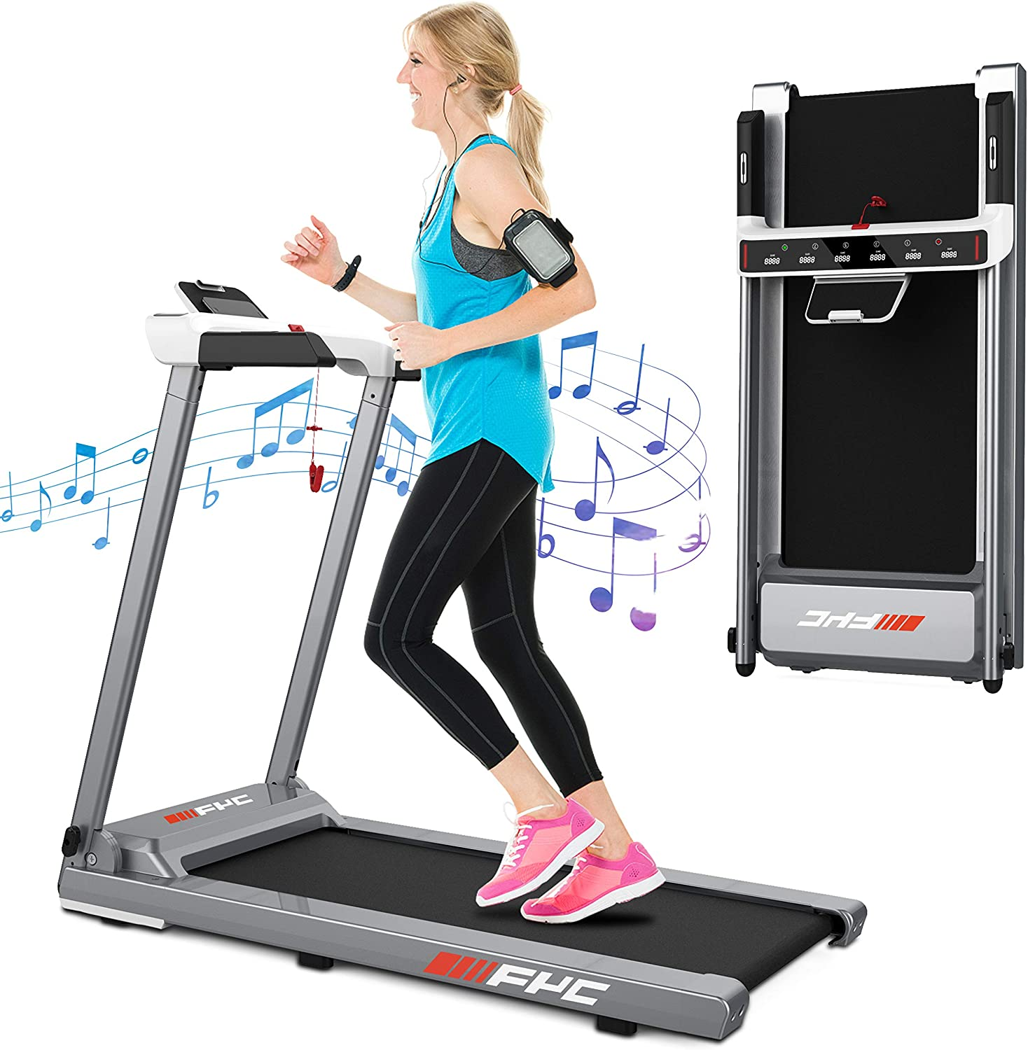 Ranking TOP3 FYC Folding Treadmill Rapid rise for Running Exerci Electric Home
