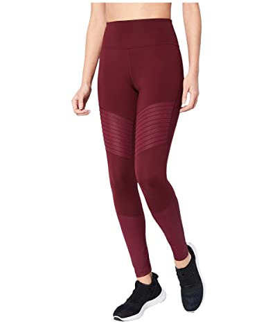 Core 10 Icon Series The Dare Devil Leggings (Merlot/Merlot Shine) Women