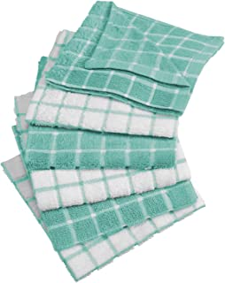 DII 100% Cotton, Machine Washable, Ultra Absorbant, Basic Everyday 12 x 12