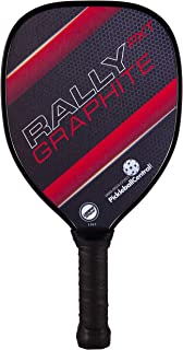 Rally PXT Graphite Pickleball Paddle | Polymer Composite Honeycomb Core, Graphite Carbon Face | Lightweight | USAPA Approved