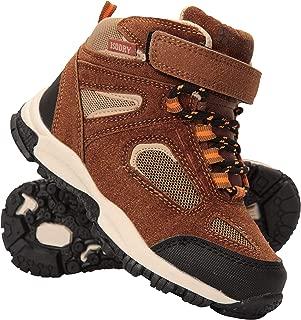 Mountain Warehouse Forest Junior Waterproof Boots - Kids Rain Shoes