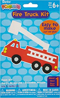 Darice Foam Kit-Makes 1-Fire Truck 6.25