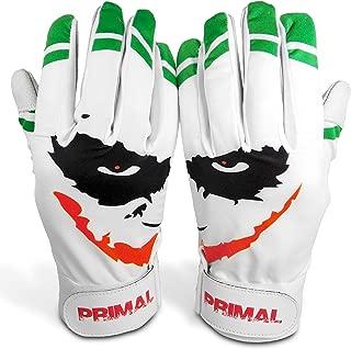 "Primal Baseball ""SMILEY"" Baseball Batting Gloves (Adult Size XL)"