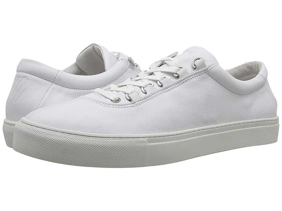 K-Swiss Court Classico (White/Off-White Leather) Men