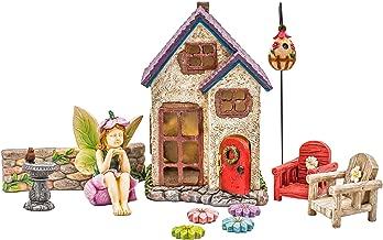 Miniature Fairy Garden Houses, Fairies, Figurines, Animals, Kits, Furniture, and Supplies (Fairy's Retreat)