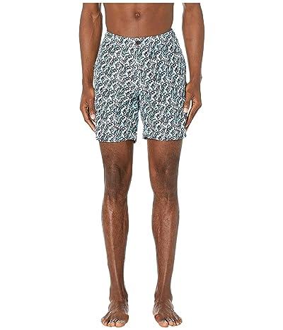 onia Calder 7.5 Swim Shorts (Retro Blue) Men