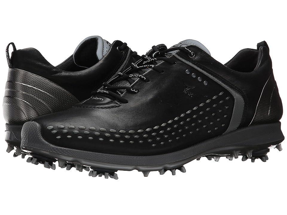 ECCO Golf BIOM G 2 (Black/Transparent) Men