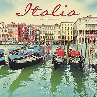 Graphique Italia 2016 Wall Calendar (CY65116)