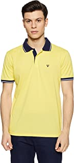 Allen Solly Men's Solid Regular Fit T-Shirt