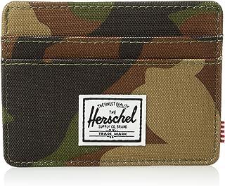 Herschel Charlie Leather RFID Blocking Card Holder Wallet Portefeuille Mixte