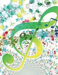Ukulele Tab Sheet Music: A Blank Sheet Music Notebook to Write Your Own Ukulele Songs, Blank Ukulele Chord Sheet, Ukulele Tab Book. Abstract Theme