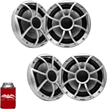 """$439 » Sponsored Ad - wet sounds - Two Pairs of RECON6-S Recon Series 6.5"""" 60-Watt RMS Coaxial Speakers with Silver XS Grilles an..."""