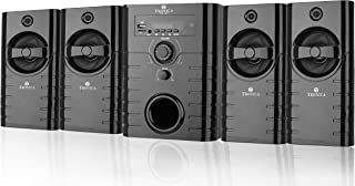 Tronica Republic Series 4.1 Bluetooth Multimedia Speakers with FM/AUX/USB/SD CARD Support and Remote Control (Black)