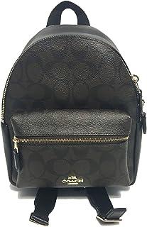 Coach Signature Mini Charlie Backpack Bag
