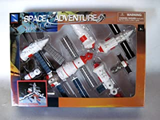 New Ray NASA Space Adventure Child Plastic Toy Model Kit - Space Station,White
