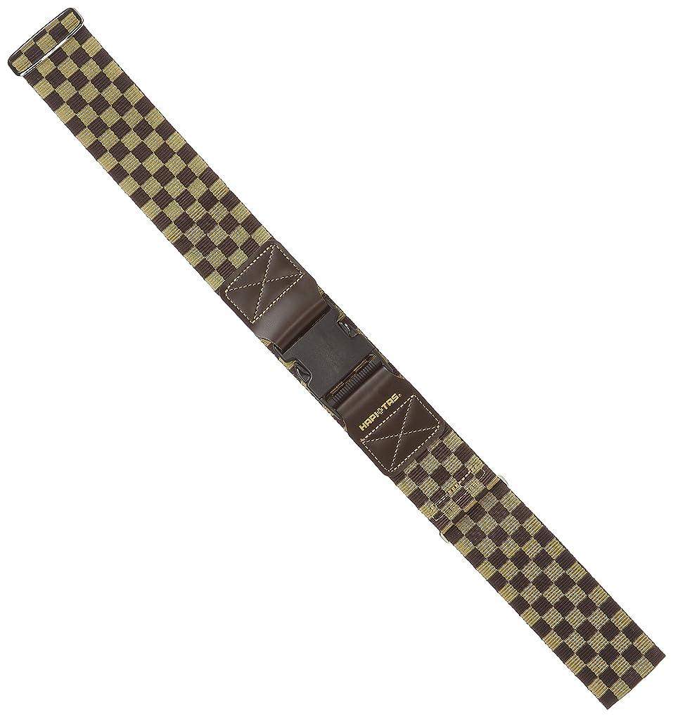 情緒的スキムシビック[ハピタス] スーツケースベルト ワンタッチバックルタイプ 豊富な柄 6 cm 0.22kg