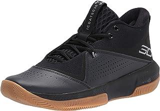 Under Armour Män 3023917-003_44,5 basketbollskor, svart, 44,5 EU