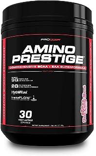 Amino Prestige - #1 BCAA & EAA Vegan/Fermented Amino Acid IntraWorkout Formula Naturally Flavored BCAAs (Crisp Green Apple)