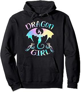 Juste une fille qui aime les dragons - Cadeau de dragon Sweat à Capuche