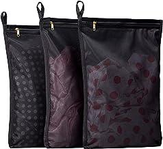 TENRAI 3 Pack (3 Medium) Delicates Laundry Bags, Bra Fine Mesh Wash Bag, Use YKK Zipper, Have Hanger Loops, Zippered, Prot...